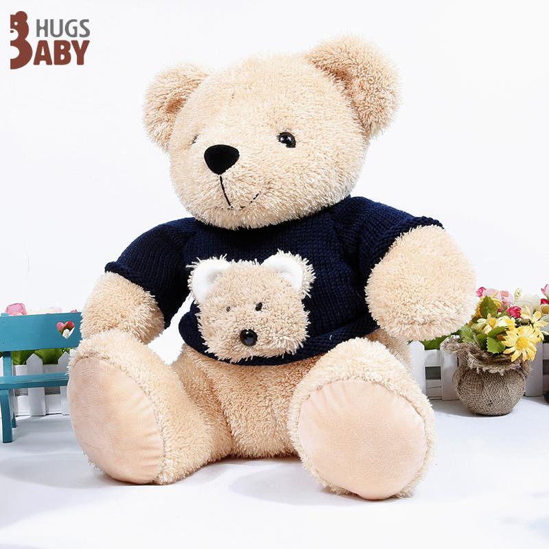 毛绒玩具定制母子熊的故事 新闻资讯 抱抱宝贝毛绒