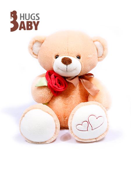 抱抱宝贝玩具:小熊朵依