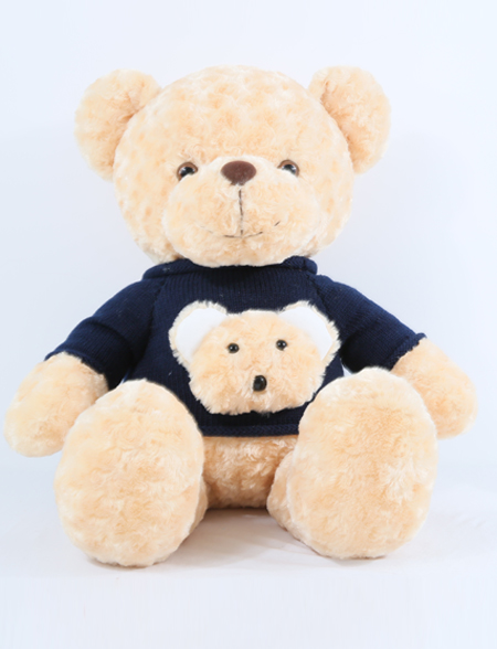 抱抱宝贝玩具:小熊若拉