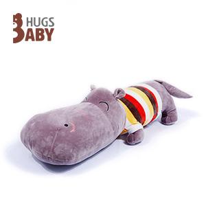 抱抱宝贝玩具:河马枕