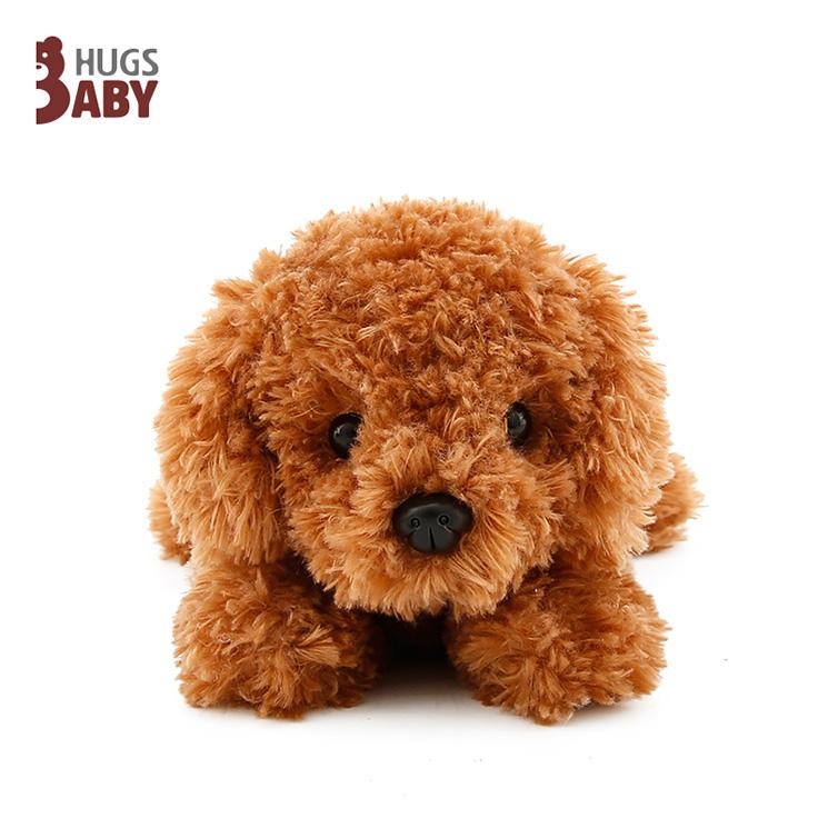 抓机娃娃领结趴泰迪狗